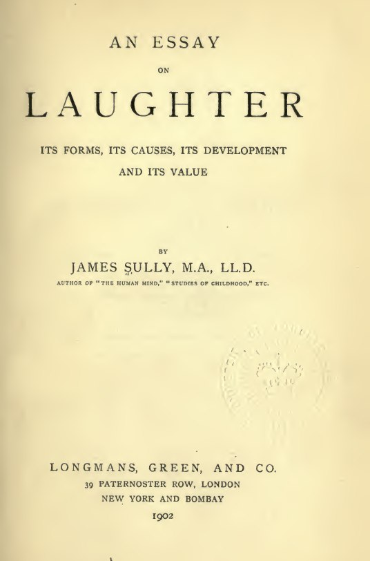 Essay on laughter sully