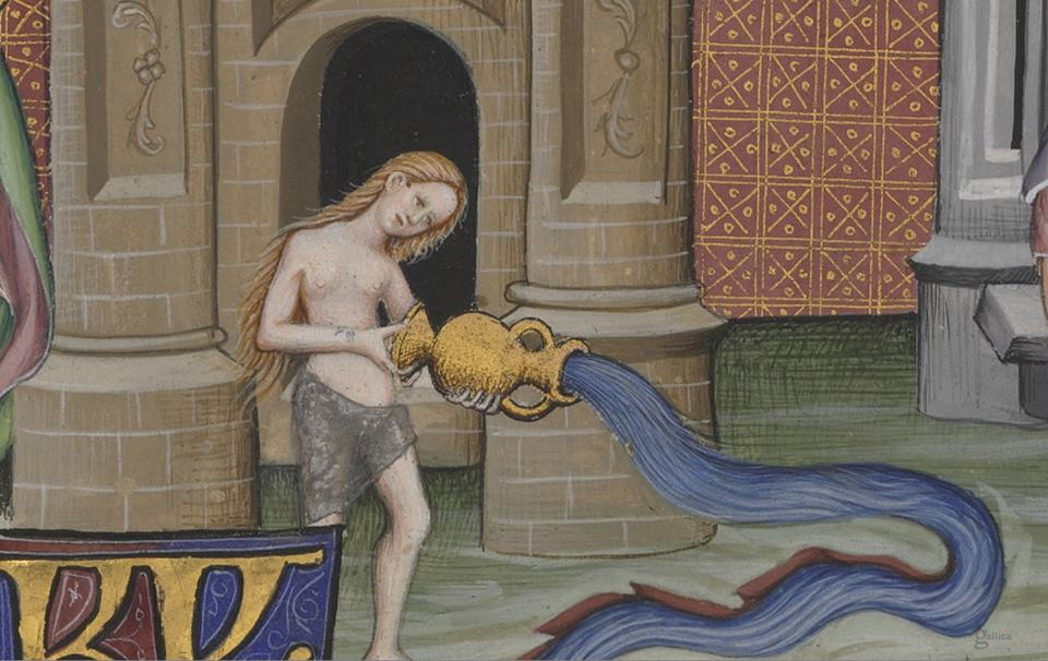 Water flow c 1380-1450