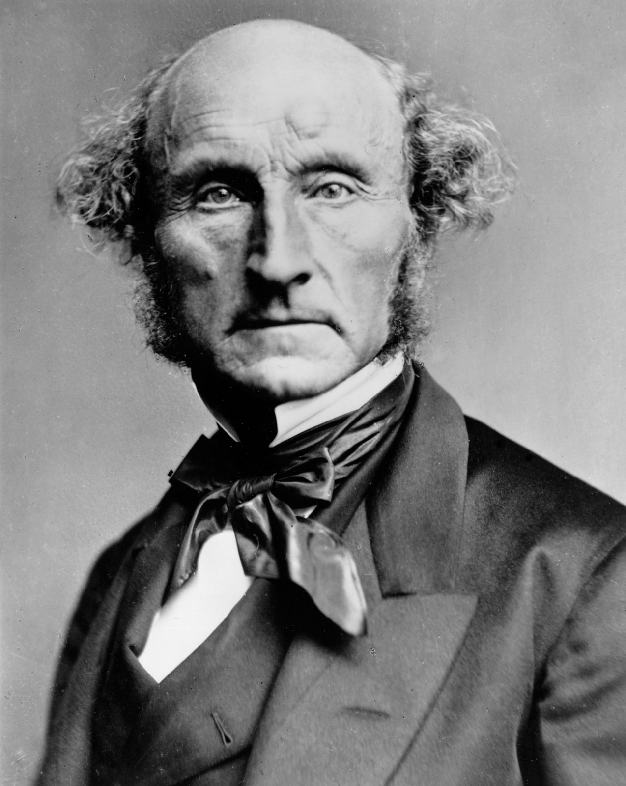 John Stuart Mill was one liberal philosopher who pondered the balance between wisdom and personal autonomy - John_Stuart_Mill_by_London_Stereoscopic_Company_c1870