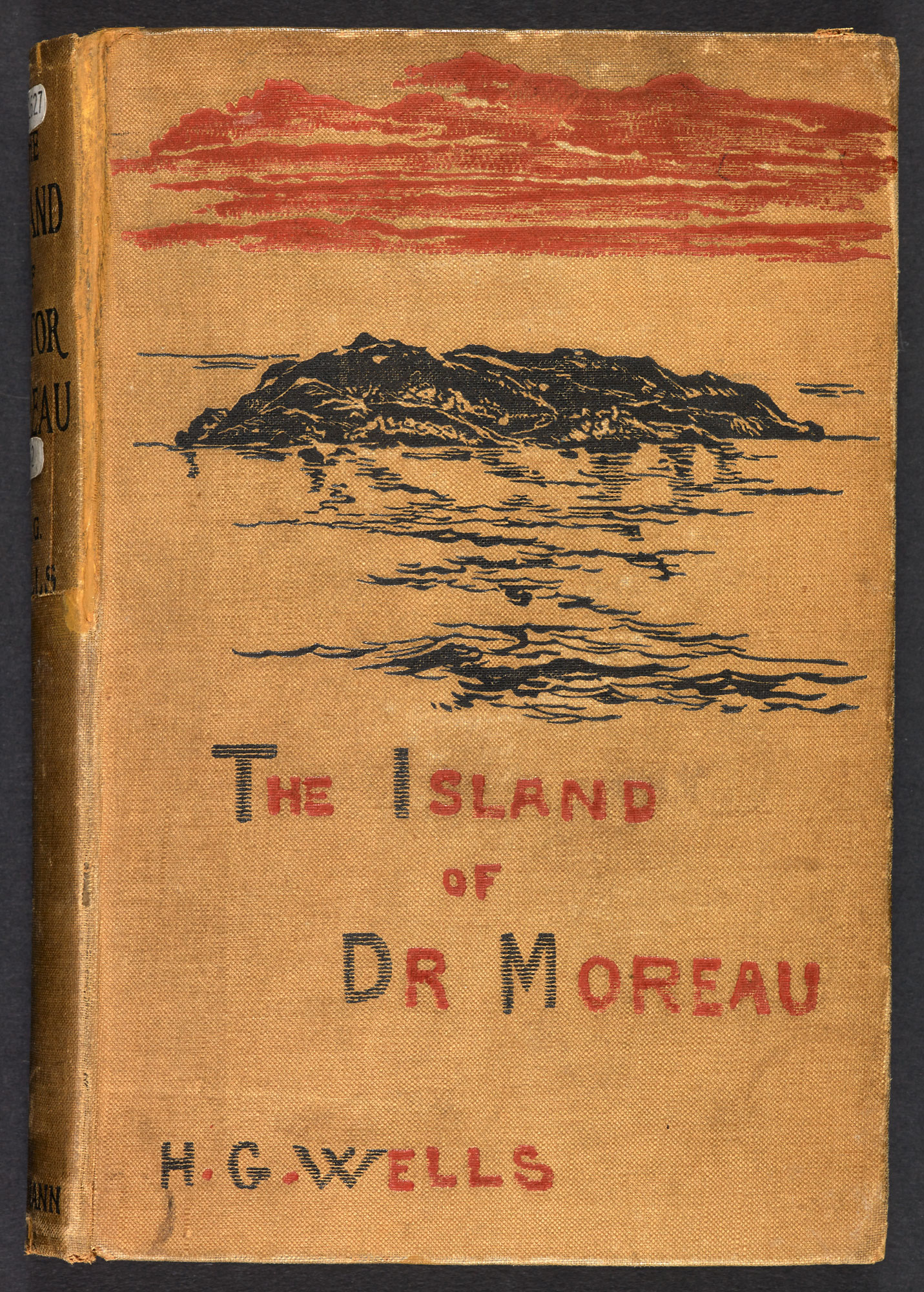 Island of Dr Moreau cover 1895