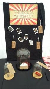Final talismans display