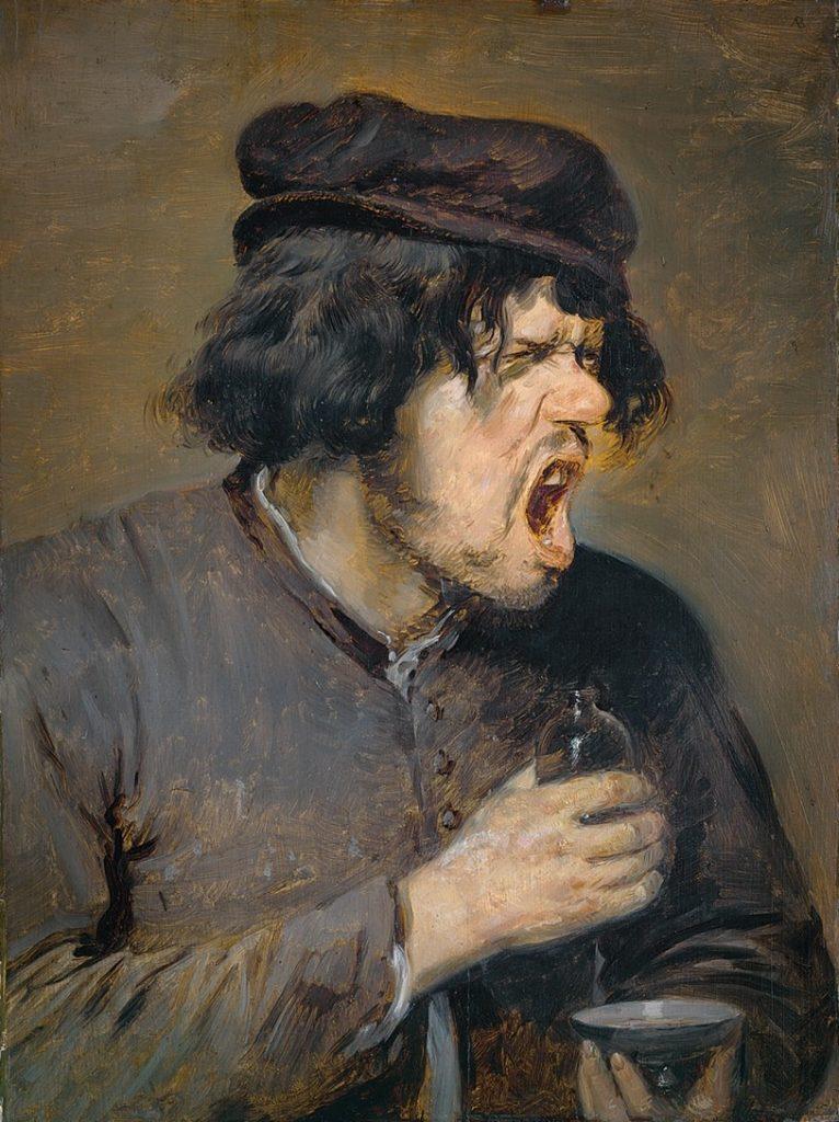 Adriaen Brouwer, Der Bittere Trank, UM 1636-38, Städel Museum, Frankfurt