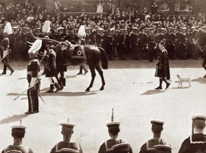 funeral cortege of King Edward VII.