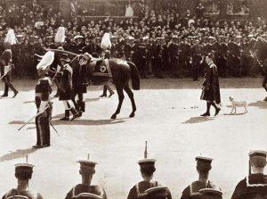funeral cortege of King Edward VII.